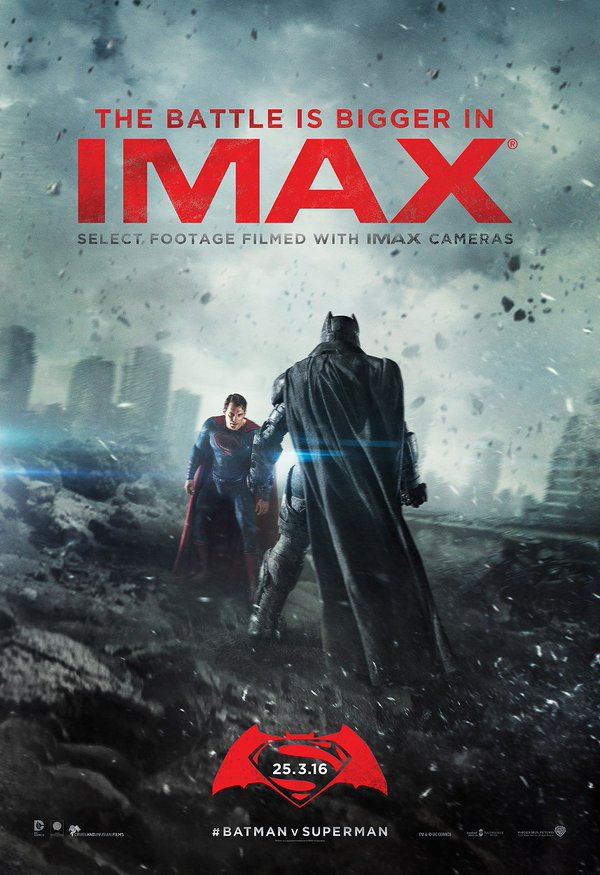 Batman V Superman-affiche IMAX