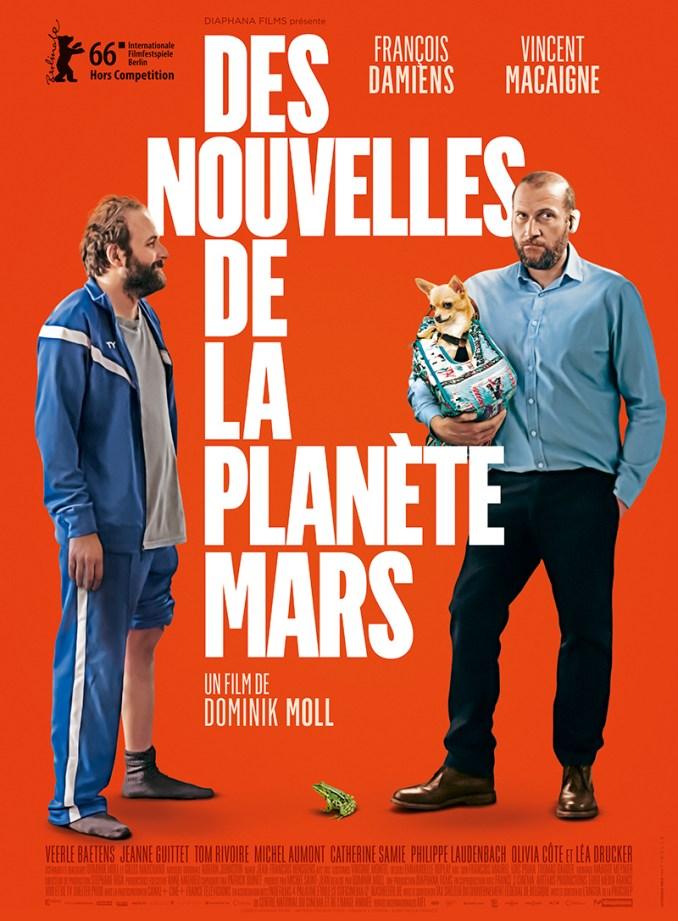 Des nouvelles de la planete Mars affiche