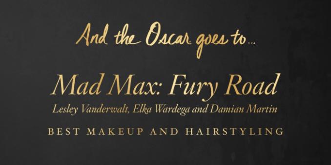 Mad Max-Meilleur Maquillage