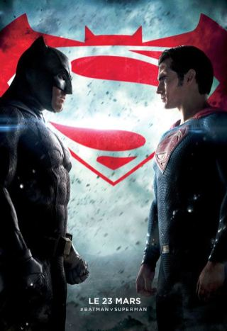 Batman vs Superman affiche