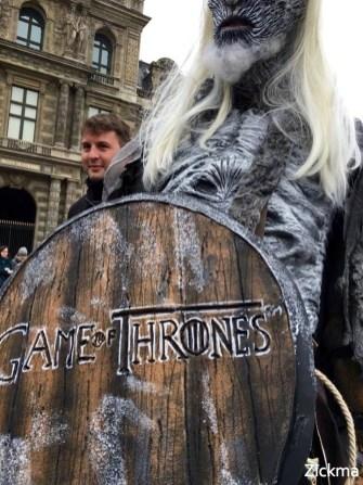 game of Thrones Ice Truck Paris 9