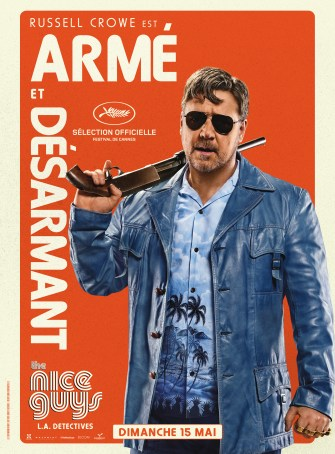 Nice Guys poster Perso Russel