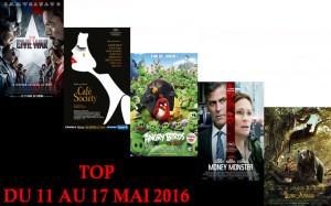 TOP 11 AU 17 MAI 2016
