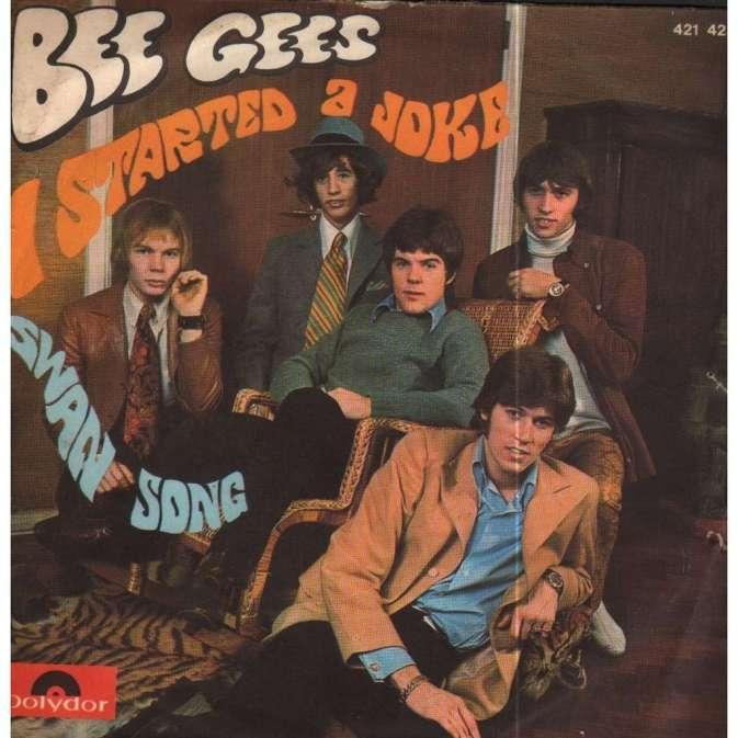 Bee Gees started a joke