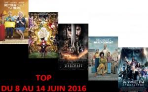 TOP 8 AU 14 JUIN 2016