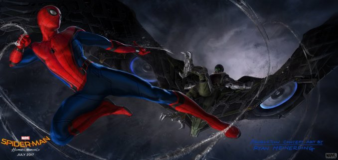 Spiderman Homecoming concept art
