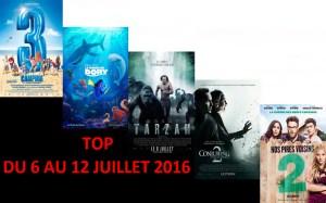 TOP 6 AU 12-7-2016