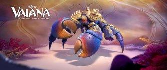 Tamatoa est un crabe géant nombriliste qui habite Lalotai, le royaume des monstres. Ce crustacé vaniteux refuse d'être un simple « ramasse-miettes marin » et essaye de surmonter son complexe en se parant de tout ce qui brille.