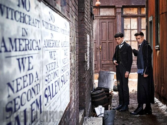 Fantastic Beasts Ezra Miller Colin Farrell