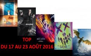 TOP DU 17 AU 23-8-2016