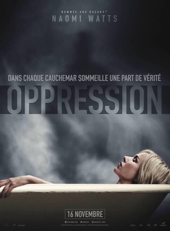 Oppression affiche