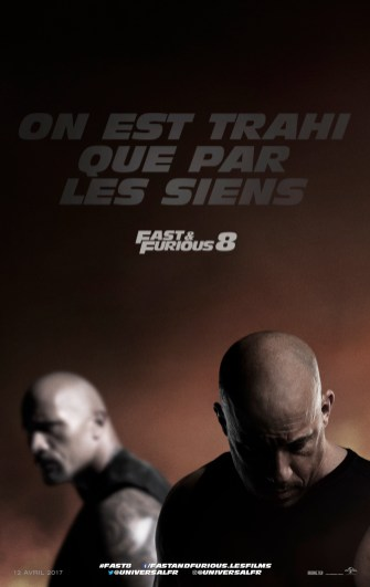 Fast and furious 8 affiche fr