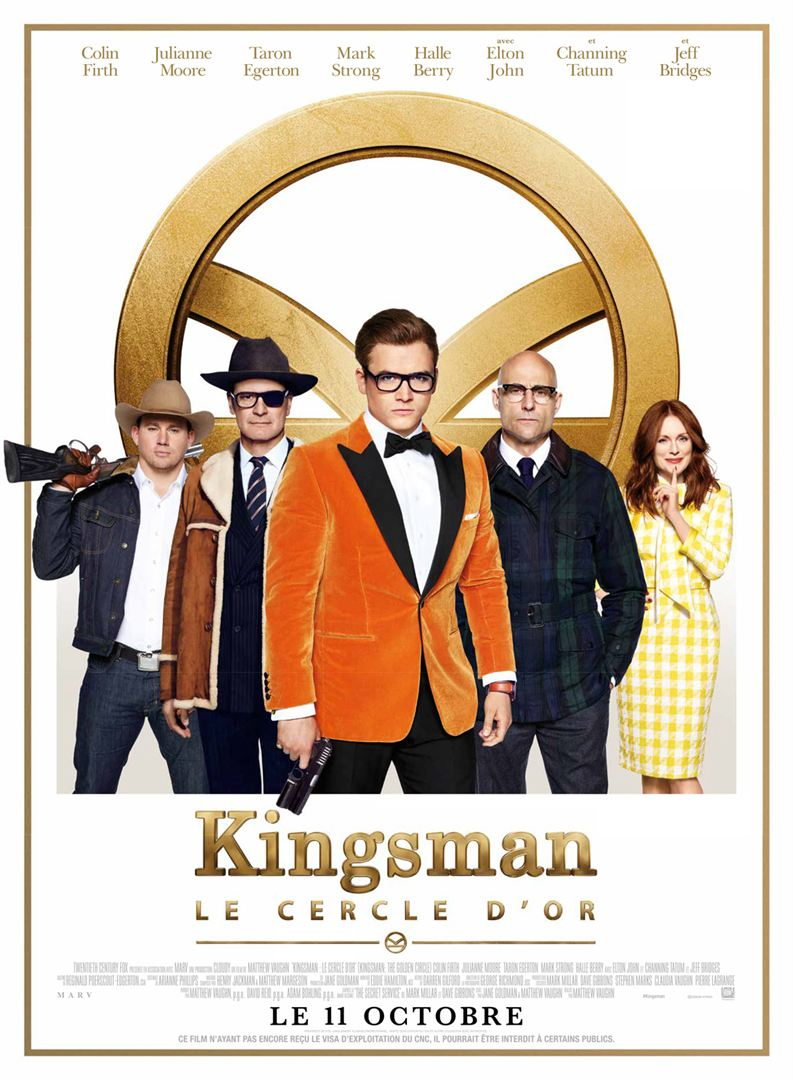 Critique de Kingsman : Le Cercle d'or – Zickma