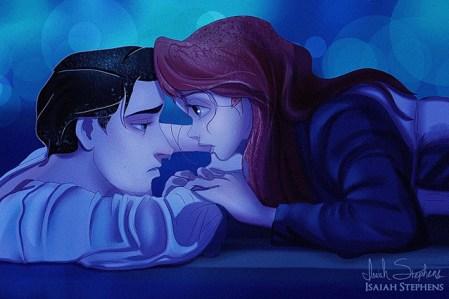 Ariel et Eric - La petite sirène