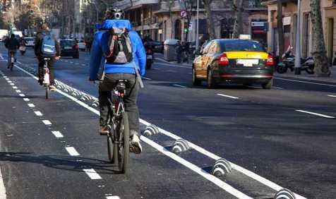 campanya per impulsar l'ús de la bicicleta