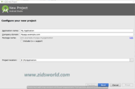 android new project