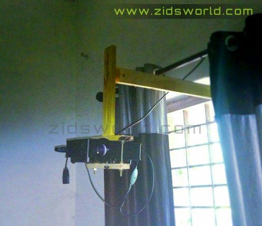 diy projector mount