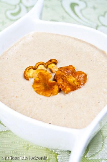 zupa krem z kurek przepis