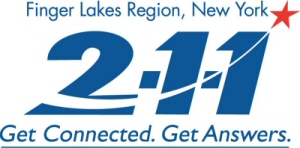 211fl logo - A Tremendous Resource for Help in the Finger Lakes Area-- the 2-1-1 Call Center