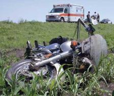 motorcycle accident - Schuyler County Sees 3 Injured in Car vs. Motorcycle Crash