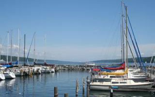 SenecaLakeHarbor breakwall1 - Seneca Lake Crash Offers a Frightening Reminder of Boating Risks