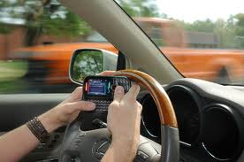 texting while driving1 - In Pennsylvania, Cell Phone Using Drivers Could Face Punitive Damages