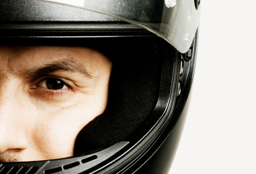 The brain of a motorcyclist is sharper than the brain of other drivers, according to a study.
