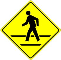 Pedestrian Crossing Sign original - Injured Child Pedestrian Turns Spotlight Back To Walking Hazards On Clemens Center Parkway in Elmira