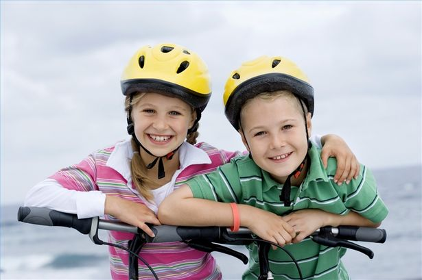 bike pic 2 kids - Q & A: Take Time To Prepare Your Children To Ride Safely This Year, Says NY and PA Bicycle Lawyer