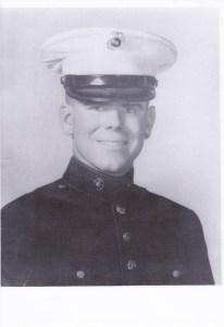 Jack Schamel was a Marine in the 1950s.