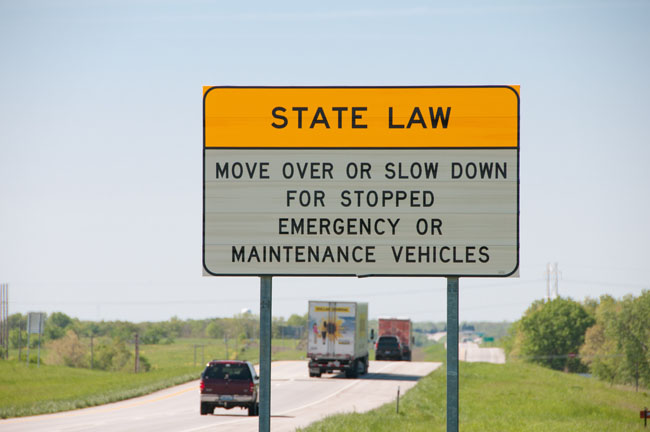"move over law - Twin Tiers Drivers, Have You Heard Of The ""Move Over"" Law?"