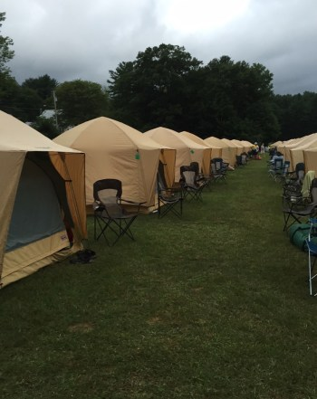 Glamping - BikeLaw Lawyer Jim Reed makes the Huffington Post!