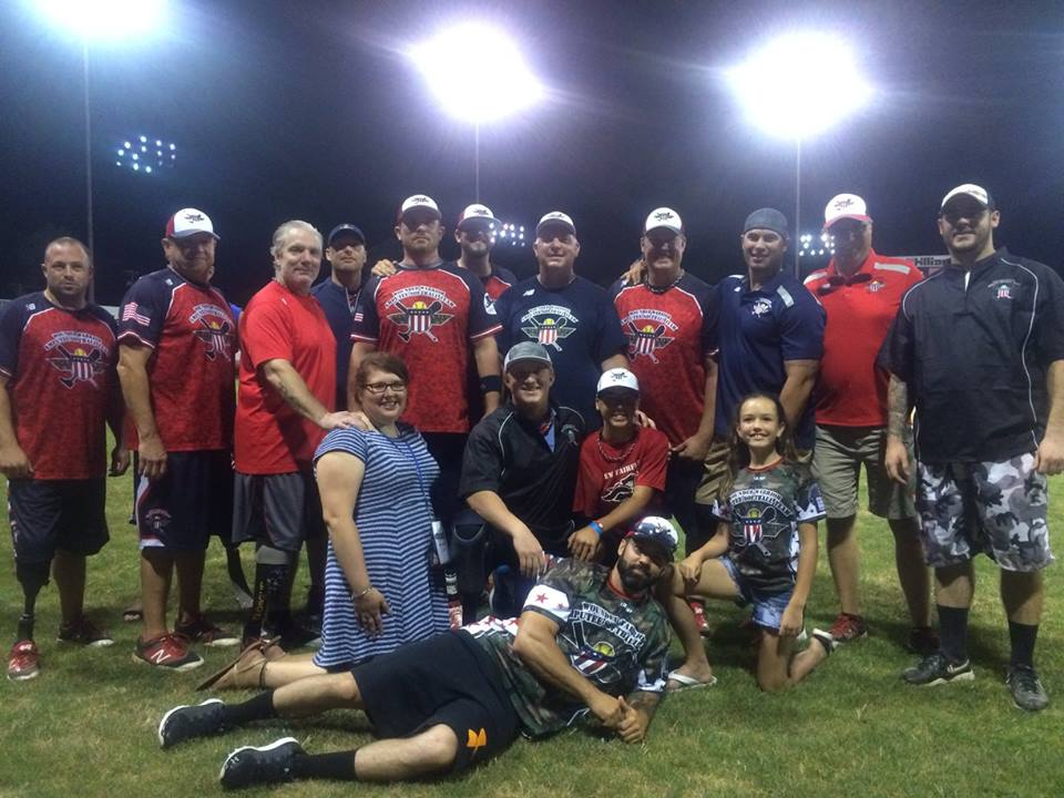 The Wounded Warrior Amputee Softball Team last played at Dunn Field in July 2016.