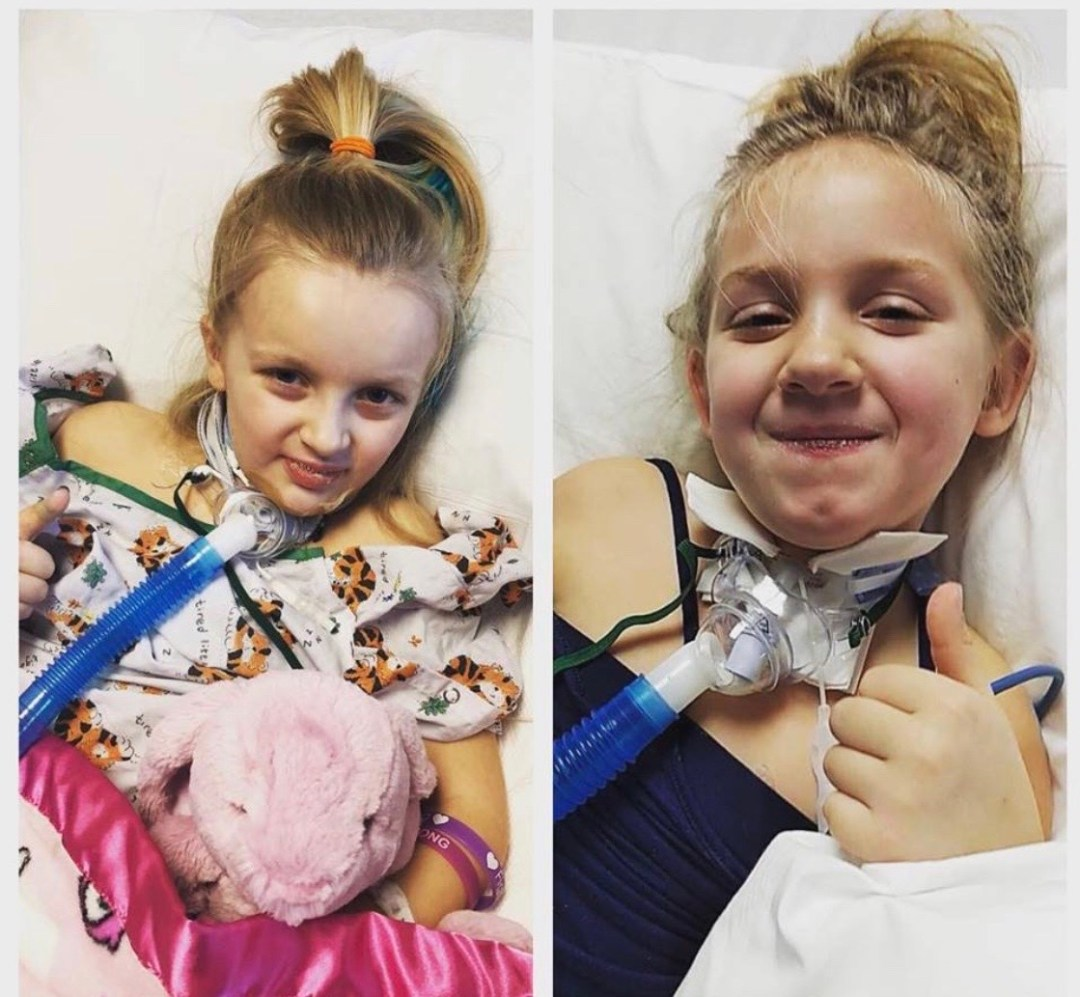 Allie and Aasen 1 - Medical Nightmares For Two Little Girls And Their Families