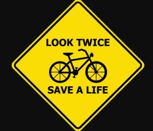 Best sign 300x258 - For Drivers, Crash Involving Young Bicyclist Is A Reminder To Look Twice
