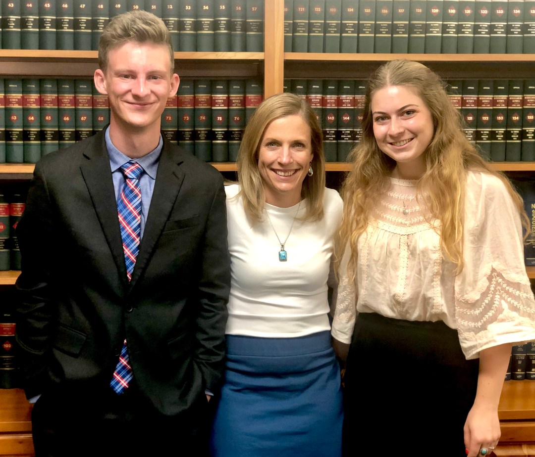 Christina and interns - Meet Our Future Legal Eagles: Summer Interns Eyeing Law School After Working With Christina Sonsire
