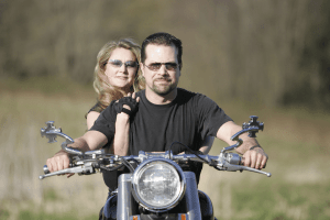 Motorcycle couple resized 600 - Motorcycle Deaths Soar 35 Percent In PA In 10 Years Since Helmet Law Repealed