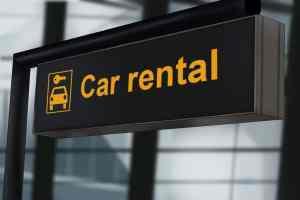 Rental Car Rental Sign 300x200 - Renting a Car? Should I Buy Their Extra Insurance?