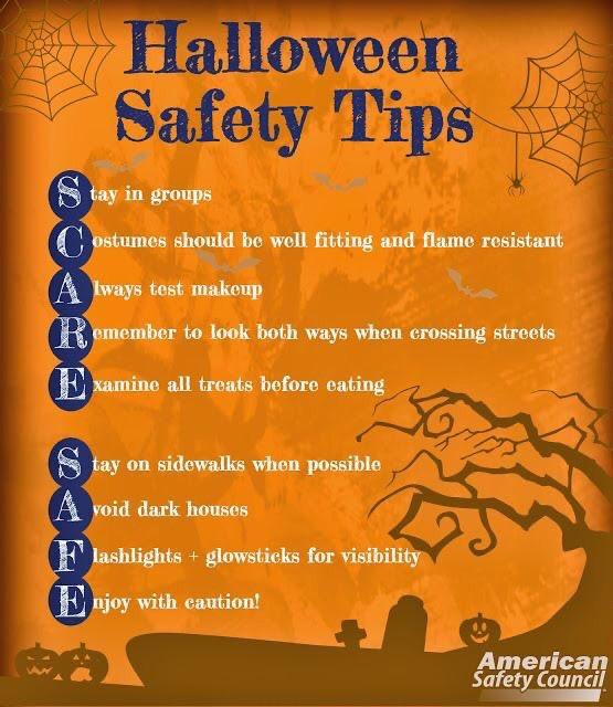 Save this for Adam - Safety Comes First On Halloween Night - Tips To Keep Your Children Safe!
