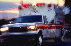 ambulance photo - NY Motorcycle Accident Attorney: Another Local Biker Killed By Careless Driver