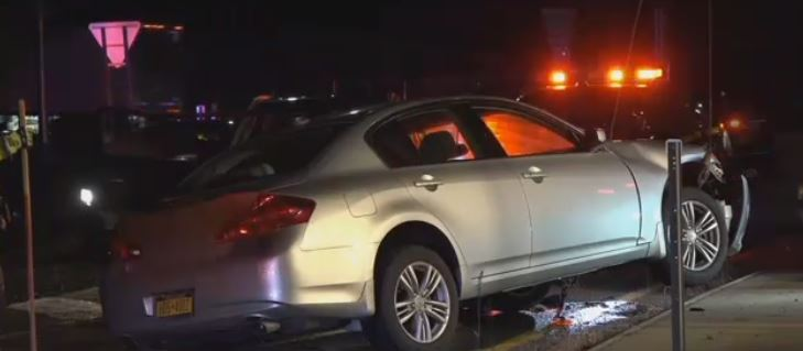 crash pic - Possible Drunken Driving Crash In Horseheads A Reminder Not To Drink And Drive This Holiday Season, Says NY and PA Injury Lawyer