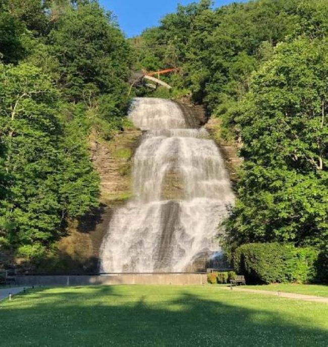 falls photo use - A Jewel Of The Finger Lakes: My Bike Commute On The Catharine Valley Trail Was A Ride To Remember