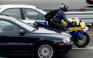 lane splitter - New Study Says Motorcycle Lane-Splitting Safe, Says NY and PA Motorcycle Law Lawyer
