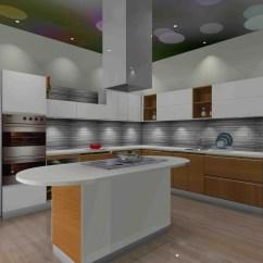 Prefab Kitchen Island Booth Modular