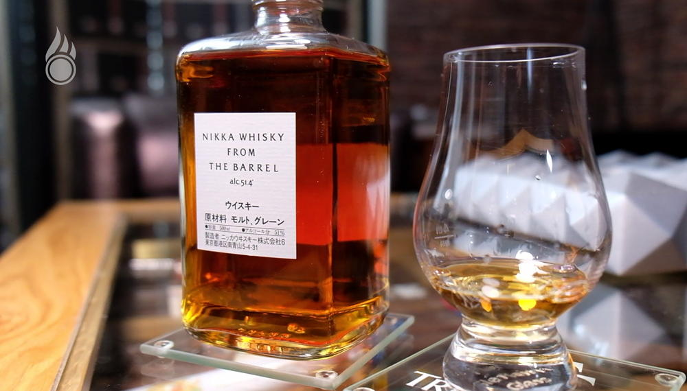 Pairing Skelton Robusto und Nikka Whisky From The Barrel