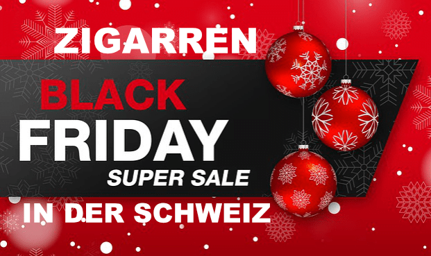 Zigarren Black Friday in der Schweiz