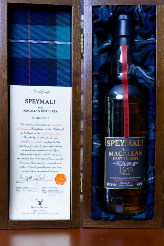 Speymalt Macallan 1940 - Bottled 1990