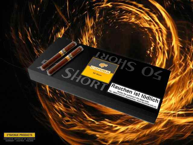 Cohiba Zigarillo SHORT 50er Club