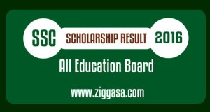 SSC Scholarship Result 2016