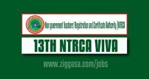 13th NTRCA Examination Viva Results